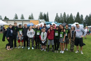 Today Streetfront students (current and former), staff, family and friends participated in the annual Strachan Hartley Legacy Foundation run.