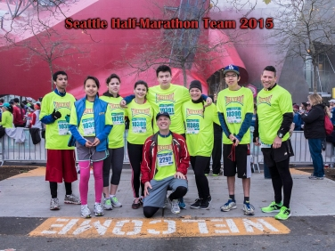 2015 Seattle Half-Marathon Team
