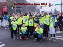 2015 Seattle Marathon Team