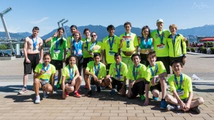 Post-race Half marathoner's.