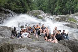 Class at Granite Falls