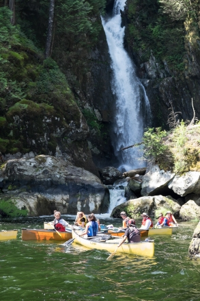Viewing Silver Falls